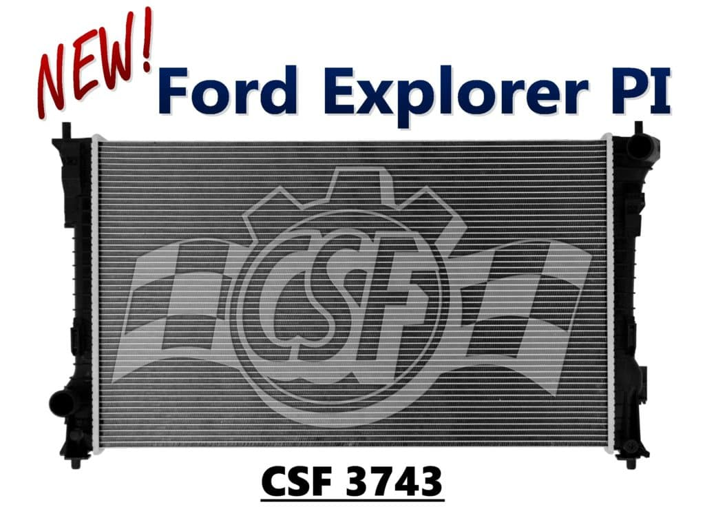 The latest news from your friends at CSF Radiators