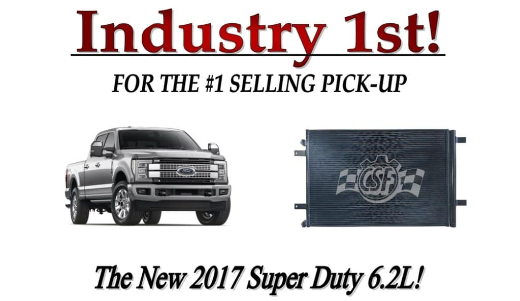 2017 Ford Super Duty 6.2L Condenser